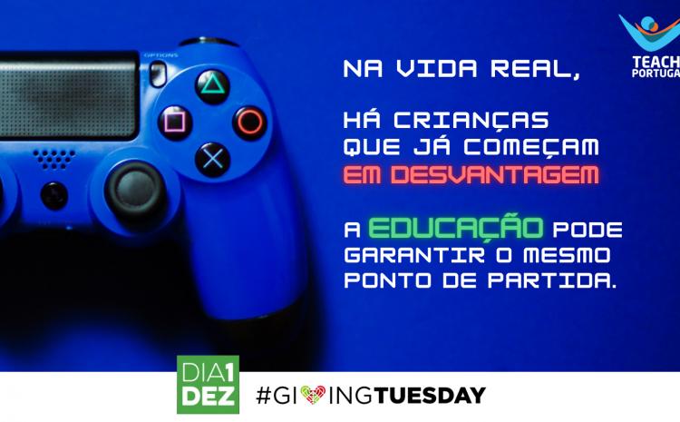 """O """"jogo"""" desigual: campanha de Natal da Teach For Portugal"""