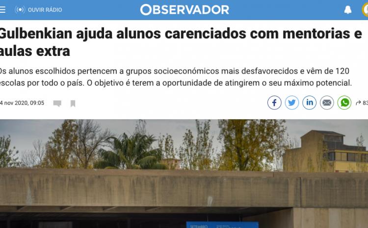 GAP – Gulbenkian Aprendizagem com a Teach For Portugal