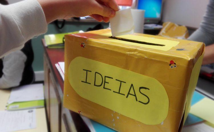 Caixa de Ideias e Sugestões