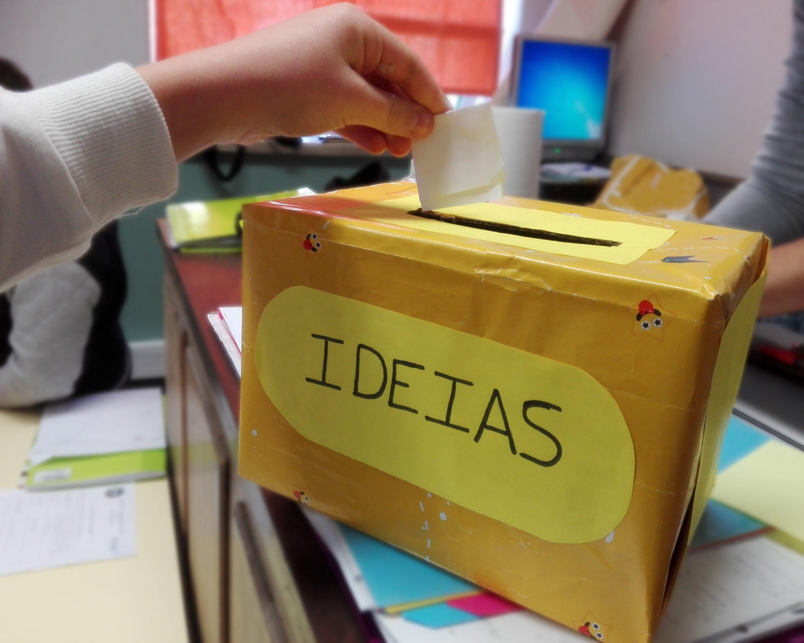 caixa das ideias