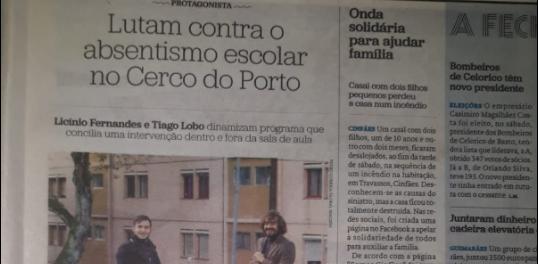Contra o absentismo escolar no Cerco do Porto