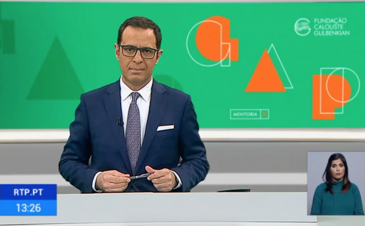 Projeto GAP no Jornal da Tarde da RTP1