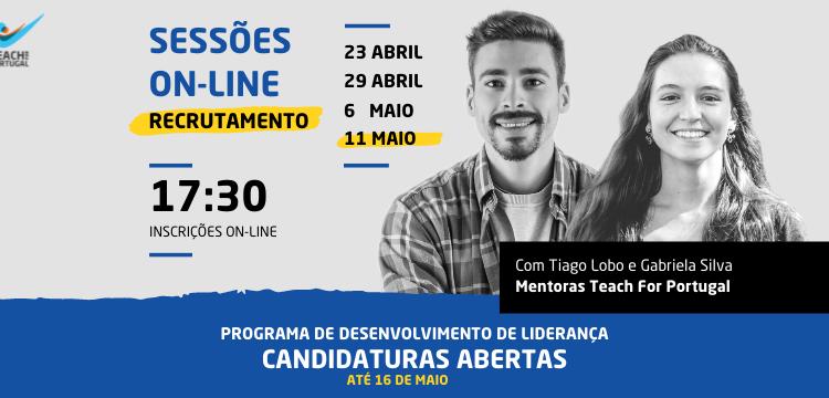 #ÚLTIMA Sessão esclarecimento – Recrutamento Teach For Portugal