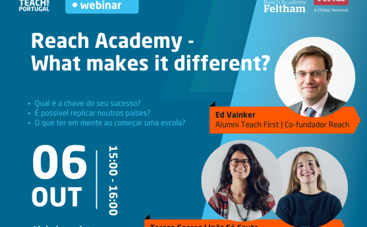 Webinar: Reach Academy – What makes it different?